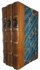 J.J. ROUSSEAU. Eloisa; A Series of Original Letters 1810 THREE VOLUMES Half Calf
