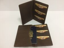 Passport Wallet Travel Wallet - Genuine Rustic Leather