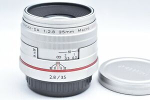 EXC PENTAX for K mount HD DA 35mm F2.8 Macro Limited from JAPAN #214