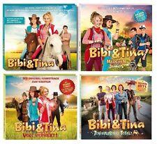 4 CDs * BIBI UND TINA -FILMMUSIK/SOUNDTRACK ZUM KINOFILM 1-4 IM SET # NEU OVP KX