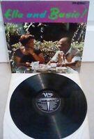 """Ella Fitzgerald & Count Basie Ella & Basie Vinyl 12"""" LP VLP 9050 Verve 1963"""