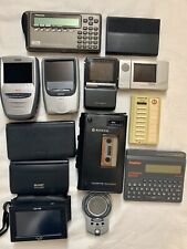 Lot of Vintage Small Electronics LCD Mini TVs Check Printer Cassette Wizard