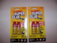 ORIGINAL SUPER GLUE 4 BOTTLES. EACH 0.10 OZ. (3 GRAMS)