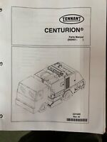 Tennant Centurion Sweeper parts Manual   002001 #244