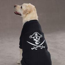 Casual Canine Pirate Tee  Dog Pet Halloween Glowing T Shirt XXS -  XL