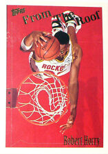 CARTE NBA BASKET BALL 1995 PLAYER CARDS ROBERT HORRY (320)