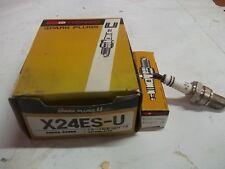 CANDELA MOTO NIPPOLDENSO X24ES-U UGUALE NGK D8EA  *pesolemotors*