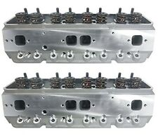 Precision Race Cylinder Heads Small Block Chevy w/.550 Lift Springs SBC 350 383