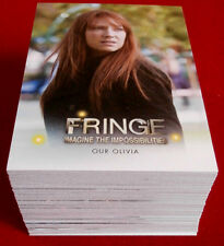 FRINGE (J.J.Abrams) - Seasons 3 & 4 - COMPLETE BASE SET - Cryptozoic - 2013