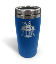 North Melbourne Kangaroos AFL TRAVEL Coffee Mug Cup Double Wall Stainless Steel