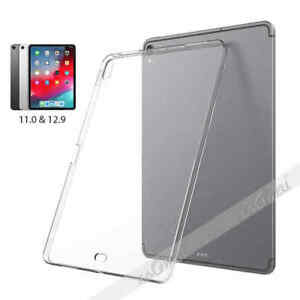 """For iPad Pro 11"""" 12.9"""" inch 2018 Shockproof Silicone Soft Clear TPU Case Cover"""