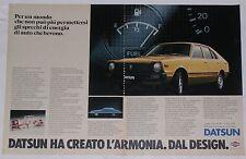 Advert Pubblicità 1980 DATSUN CHERRY N 10