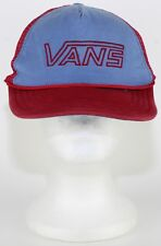 e7447642fef Red and Blue Vans Off The Wall   Skateboard Cap
