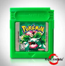 Jeu Nintendo Game Boy Color Pokemon Version Vert / Green - GBC GBA SP DMG 01