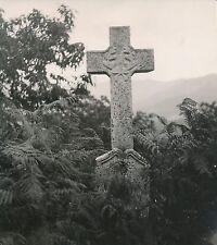 CORSE c. 1935 - Tombe d'un Gendarme en plein Maquis vers Zicavo  - Div 123