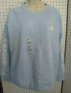 New Adidas Women's AFS Tiro Crew Neck Sweatshirt Logo on the Sleeves LG