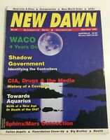 NEW DAWN MAGAZINE #42 1997 Sphinx/Mars Connection Conspiracy & Cover -Ups