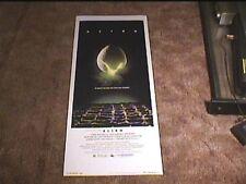 Alien 1979 Rolled Insert 14X36 Movie Poster Ridley Scott Sci Fi Sigourney Weaver