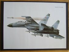 AVIATION PRINT-  SUKHOI SU-27 FLANKER-B