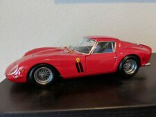 Kyosho Ferrari 250 GTO, 1:18 Scale Die-Cast Model red mint no box