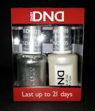 DND Daisy Soak Off Gel Polish Silver Dreamer 705 LED/UV 15ml gel duo NEW
