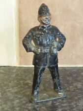 VINTAGE EARLY 20TH CENTURY DIECAST/LEAD JOLLY POLICEMAN VGC