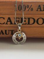 Shema Israel Circle Necklace with Star of David Magen David Jewish Prayer Gift
