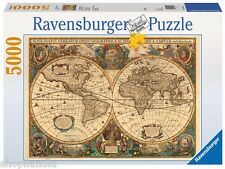 RAVENSBURGER 17411 HISTORICAL Map OF THE World PUZZLE 5000 Pieces Pezzi