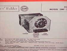 1955 FORD COURIER CUSTOMLINE FAIRLANE CONVERTIBLE AM RADIO SERVICE SHOP MANUAL 2