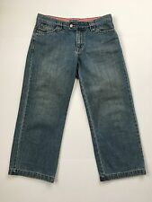 Old Navy Low Waist Capris Cropped Jeans Women's Size 4