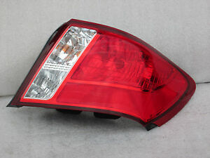 2009 2010 2011 2012 Subaru Impreza Sedan REAR TAILLIGHT TAIL LAMP OEM