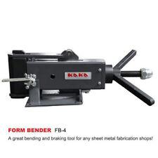 """4"""" hand Operated Steel Bending Brake, Sheet Metal Forming Bender FB-4"""