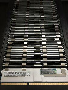HPE/DELL 768GB (24 x 32GB) 4Rx4 PC3-14900L DDR3 LRDIMM ECC REG Server Memory
