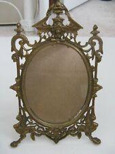 Victorian Vanity Mirror Gargoyle Griffin Gryphon Cherub Mythological Gothic
