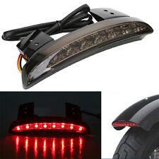 Chopped Fender Edge LED Tail Brake Light Smoke for Harley Sportster XL883 1200