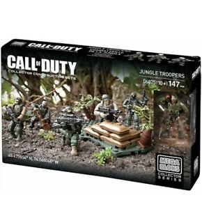 Mega Bloks Call Of Duty Jungle Troopers 06875, new . Mega Construx.