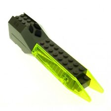 1x Lego Sound & Light Modul alt-dunkel grau transparent neon grünx239