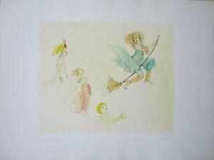 Leonor FINI  Original Etchings, Ltd Ed. Hand signed