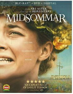 Midsommar (Blu-ray Disc ONLY, 2019) in BR case with artwork