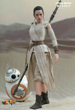 Hot Toys Star Wars REY & BB-8 Set The Force Awakens MMS337 NEW! US Seller!!!