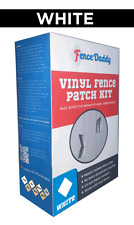 Vinyl Fence Repair Kit (Alternative To Vinyl Fence Post, Panels & Parts) White