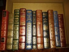 Franklin Library Signed First Edition Choose One (1) From 20 leather bound books