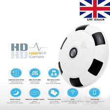 HD 1080P WiFi IP Camera fisheye 360 Security Network CCTV Night Vision V380