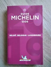 GUIDE MICHELIN GIDS BELGIË BELGIQUE LUXEMBOURG RESTAURANTS HOTELS 2019 NEUF