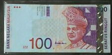 MALAYSIA RM100 NOTE CENTER SIGN BY ALI ABU HASSAN - AP 1431723