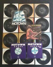 """STEVIE WONDER Collection MOTOWN ONCE/MISSTRA/LOVE/YESTER 16 x 7"""" 45 VINYL LOT"""