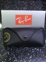 Ray Ban Black Sunglasses Case Cloth & Box Included
