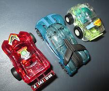 3 LOT small cars toy hot wheels iridium mixed used