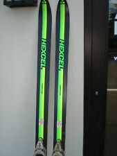 Vintage new, never used Hexcel Competition skis with Salomon 444 bindings 190 cm