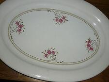 1  Servierplatte / Platte 31 cm / 21 cm   PFALZKERAMIK  JEANETTE  handdekoriert